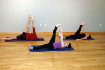 Yoga in Bend, Oregon: Supta Padangusthasana