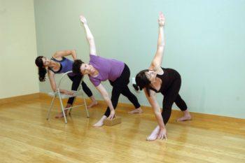 Yoga in Bend, Oregon: Parivrtta Trikonasana