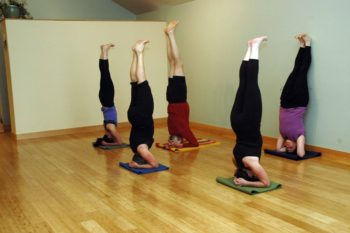 Yoga in Bend, Oregon: Sirsana