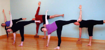 Yoga in Bend, Oregon: Ardha Chandrasana