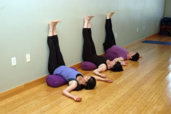 Yoga in Bend, Oregon: Viparita Karani