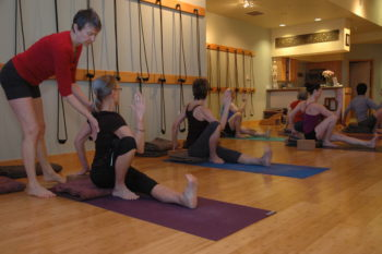 Yoga in Bend, Oregon: Marichyasana I Upright